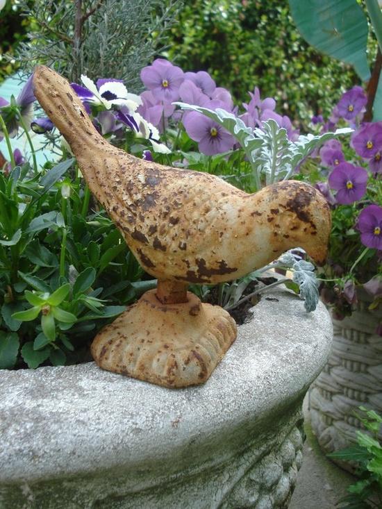 rusty bird