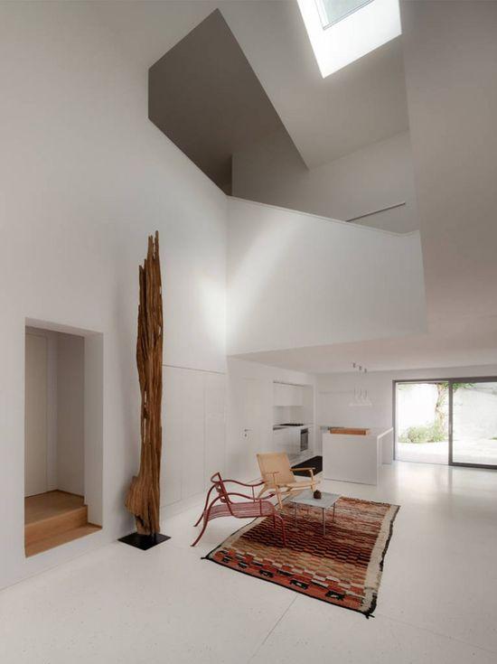 Interior of House F  by Biasi Bonomini Vairo Architetti.