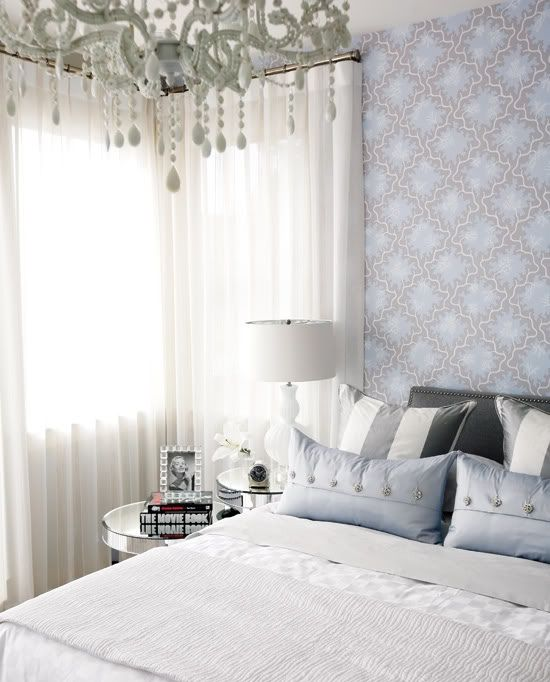 Sarah Richardson Design - bedrooms - sarah richardson bedroom, sarah richardson bedrooms, mirrored bedside tables, mirror bedside tables, ro...