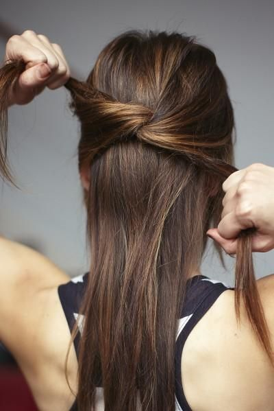 3 knotted hair styles