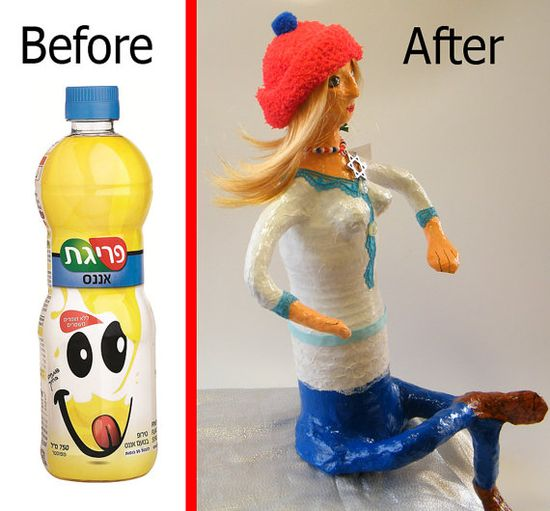 A great way to recycle plastic bottle!