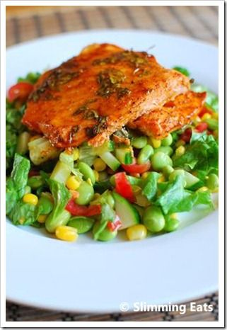 Honey, Lime and Chilli Salmon