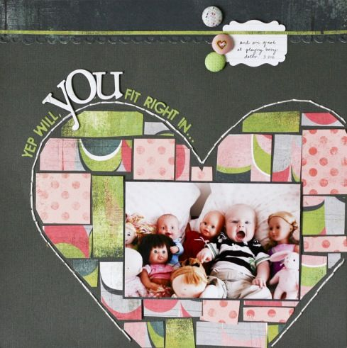 layout scrapbook#page#