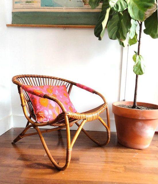 Franco Albini Style Italian Modern Chair. Gallivanting Girls on Etsy