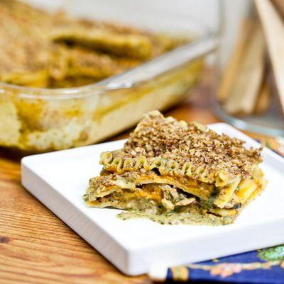 Butternut and wild mushroom lasagna food healthy lasagna healthy food healthy eating food images butternut food pictures