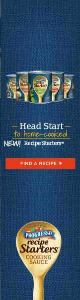 40 New Progresso Recipe Starters