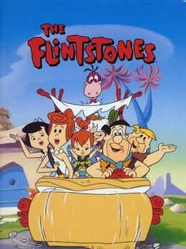 The Flintstones.  In the 70s my mom called this show sexist, which it probably was.  But Fred was one of the greatest cartoon characters of all time.