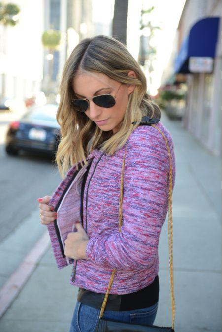spring trend: technicolor tweeds