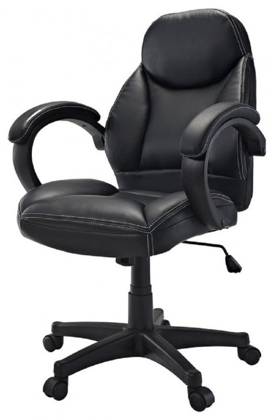 Conference Room Chairs Cith Casters: Mid Back Ergonomic Black Vinyl Conference Chairs With Casters ~ lanewstalk.com Office Furniture Inspiration