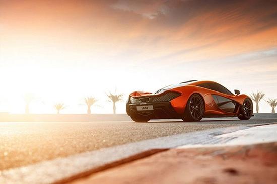 McLaren P1 Super Sports Car Captured by George Williams