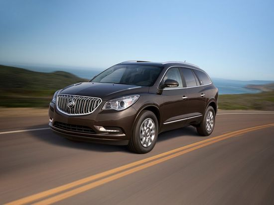 Luxury for me ..room for the boys. Perfect.   Buick Enclave (2013) - Front Side View