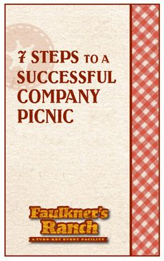 7 Steps To A Successful Company Picnic