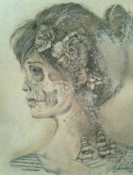 """Saatchi Online Artist: Jessica Stewart; """"Lost Love"""""""
