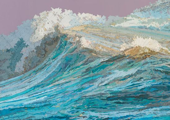 Waves made with maps