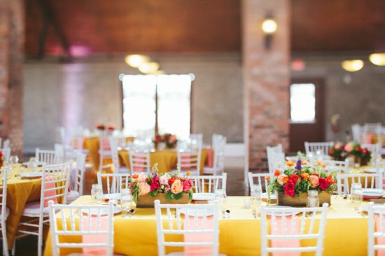 Paige Newton Photography - Blog - {HITCHED} Aubrey & Chris /// Flower arrangements at reception // Houston, TX Wedding