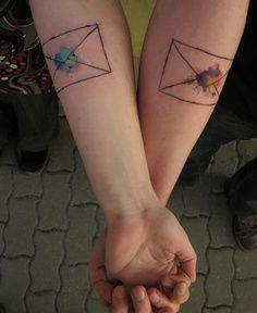 Watercolor tattoo tattoo design