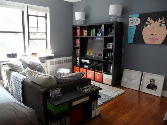 Tiny apartment