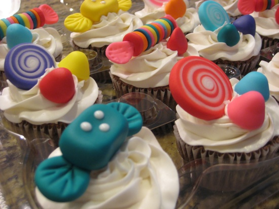 Candy Land Cupcakes -  By: Party Lovers Cupcakes www.facebook.com/...
