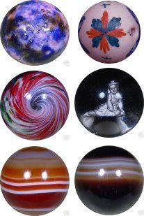 Vintage Handmade Marbles