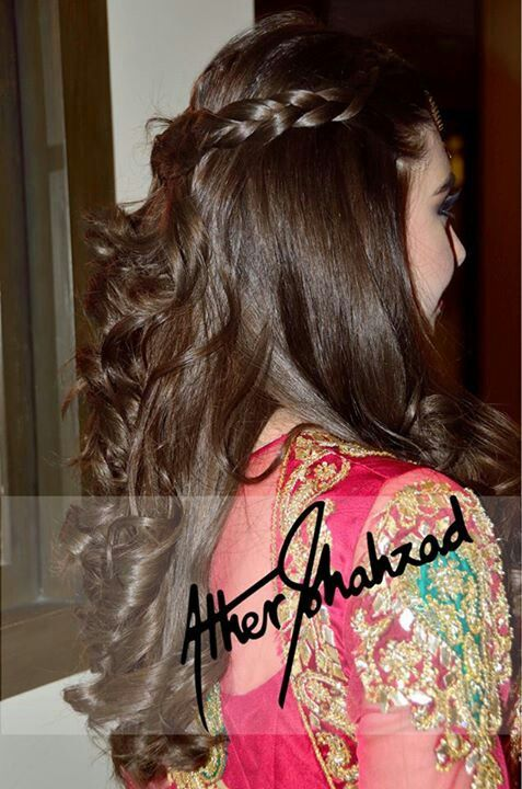 Nice hair style...