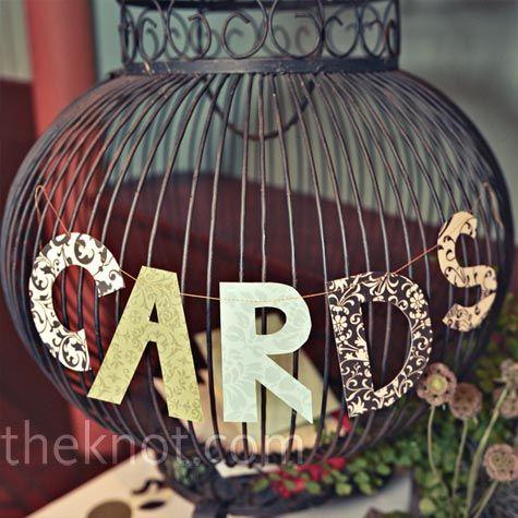cute card basket