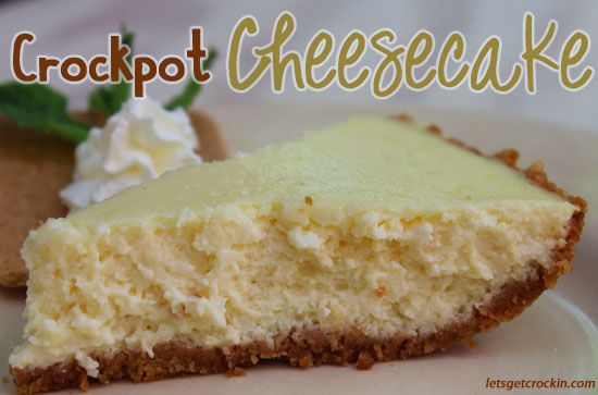 This is the best cheesecake we have ever made. Best Cheesecake EVER. This is an amazing crock pot cheesecake recipe all done in a slow cooker! Check it out!