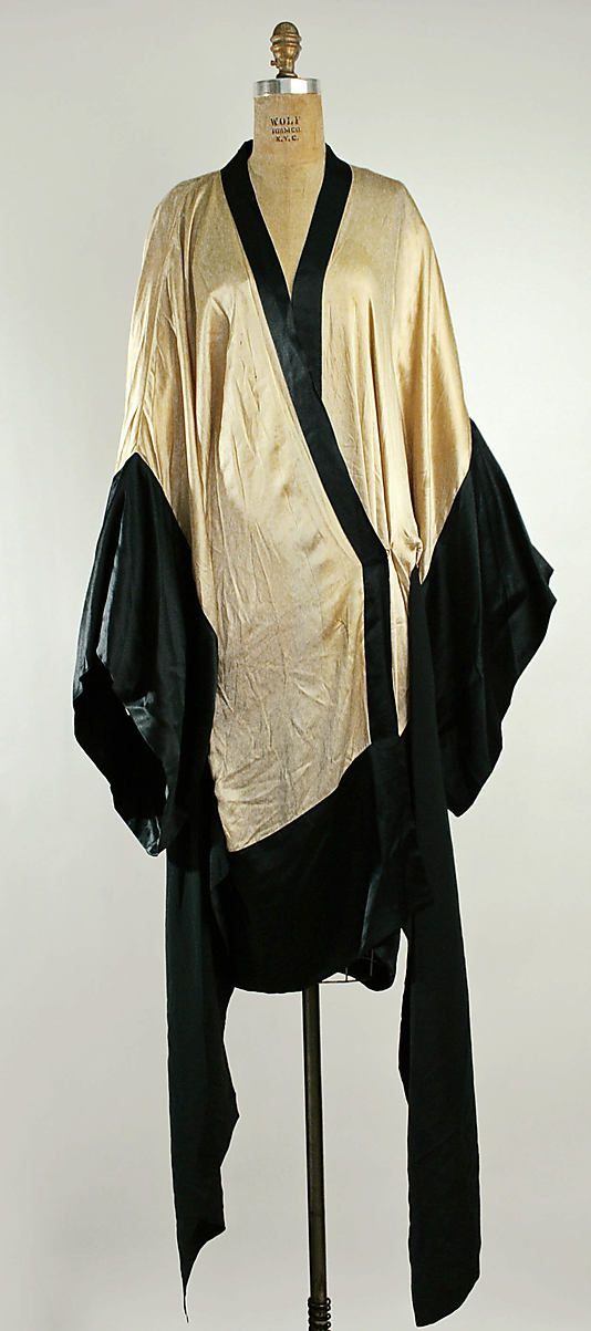 Dress - c. 1918 - Attributed to Callot Soeurs (French, active 1895-1937) - Silk