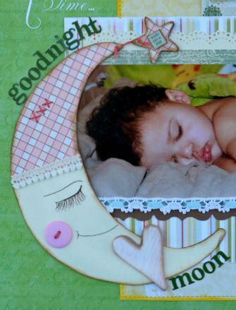 sleeping baby page