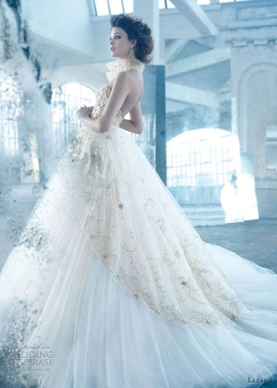 lazaro wedding dress spring 2013