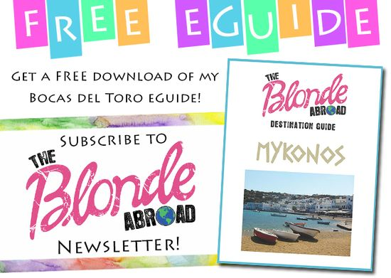 Mykonos Travel Tips - The Blonde Abroad