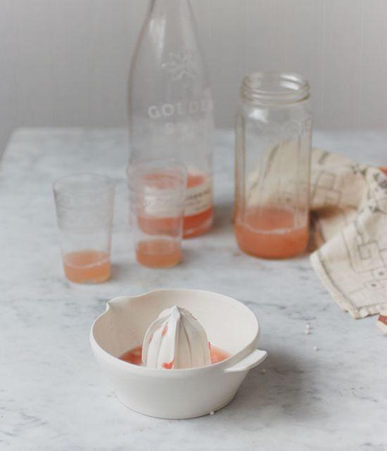 grapefruit and cream