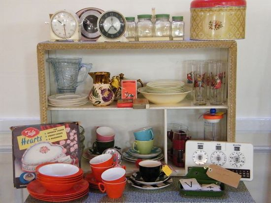 Back to the Past Retro Kitchen Design Ideas