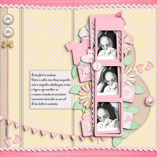 Farm Baby Girl by Néia Arantes @ DigiscrappersBrasil