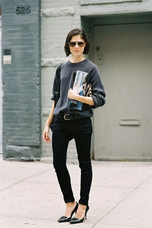 (via Vanessa Jackman: New York Fashion Week SS 2014….Emily) www.fashionforthe... #style #inspiration #whattowear #london #weather #forecast #fashionforecast