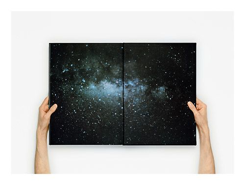 """""""Open Book #7 (Light Years)"""", 2011 Anne Collier."""