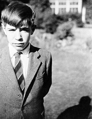 Young Stephen Hawking (age 12 - 14?)