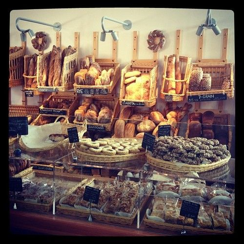 one day im going to own or work in a bakery! yumo!