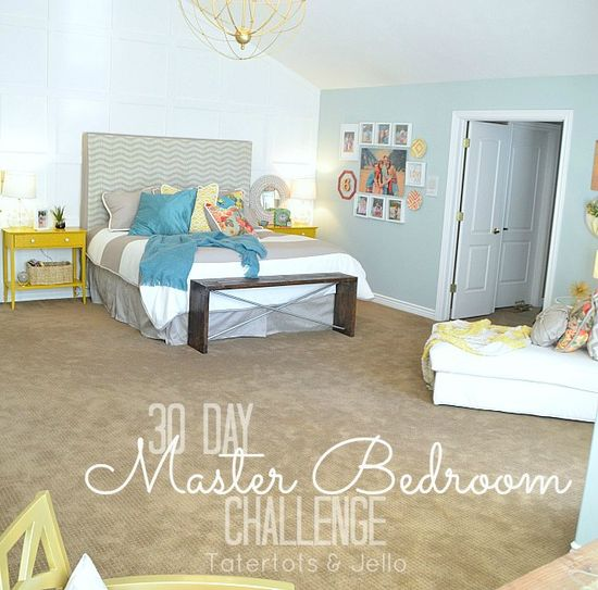 30 Day Challenge Reveal  Master Bedroom Makeover!