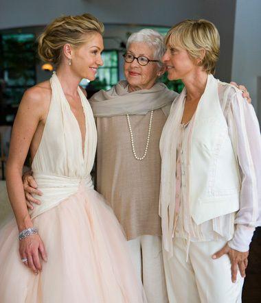 Ellen and Portia's Wedding Day