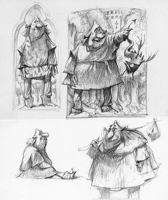 Shrek: Character Design: Carter Goodrich