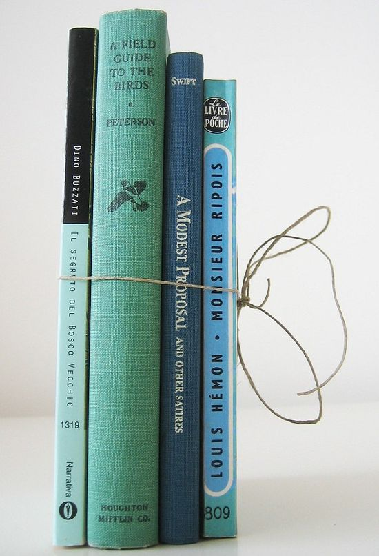 4 vintage books