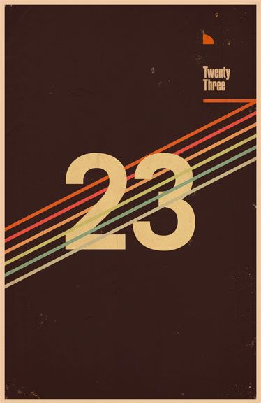 #design #poster #numbers #graphic
