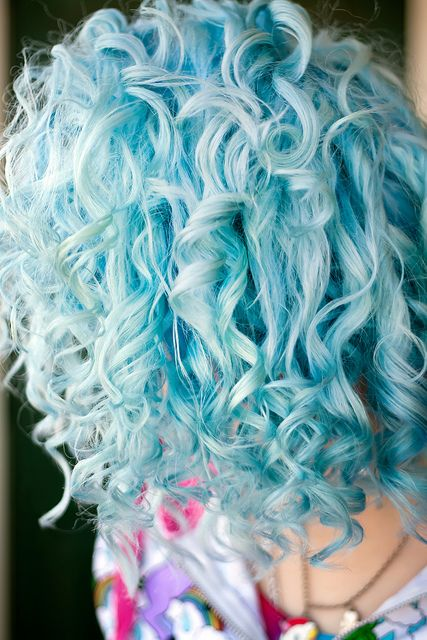 aqua hair #NewHairResolutions