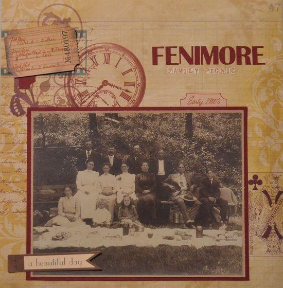Fenimore Family Picnic - Scrapbook.com