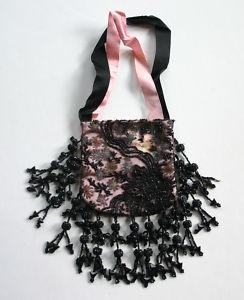 antique Victorian beaded bag on ebay $50