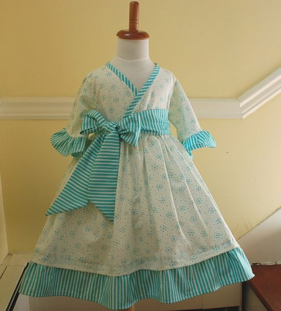 Sweet little girl dress.