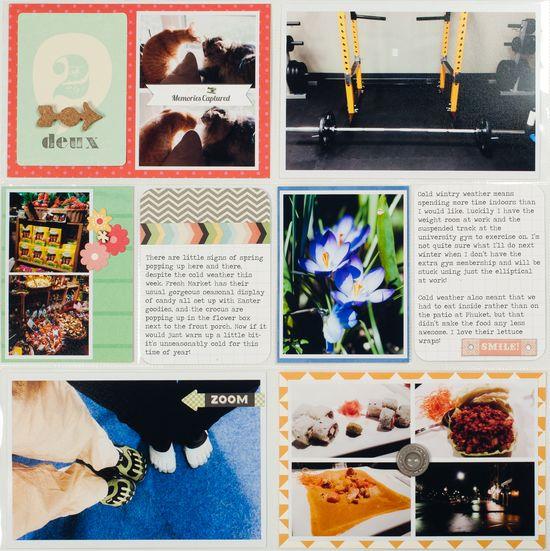 *HIP KIT CLUB - JULY 2013 KIT* - Project Life LO Left - Scrapbook.com