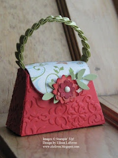 Stampin' Up! - Petite Purse Die