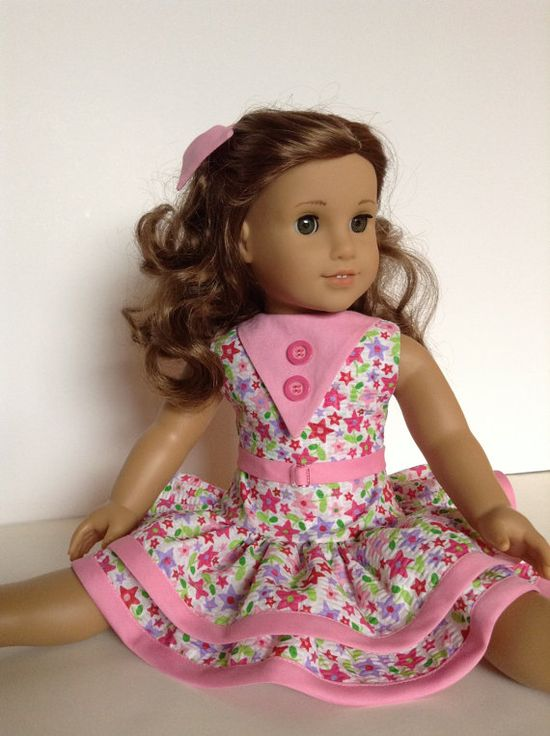 American Girl 18inch Doll Clothes  MulitColored by HFDollBoutique, $24.00