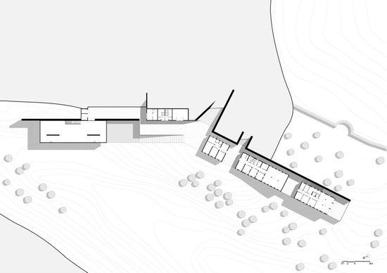 Volubilis Visitor Center - Kilo Architectures - Plan